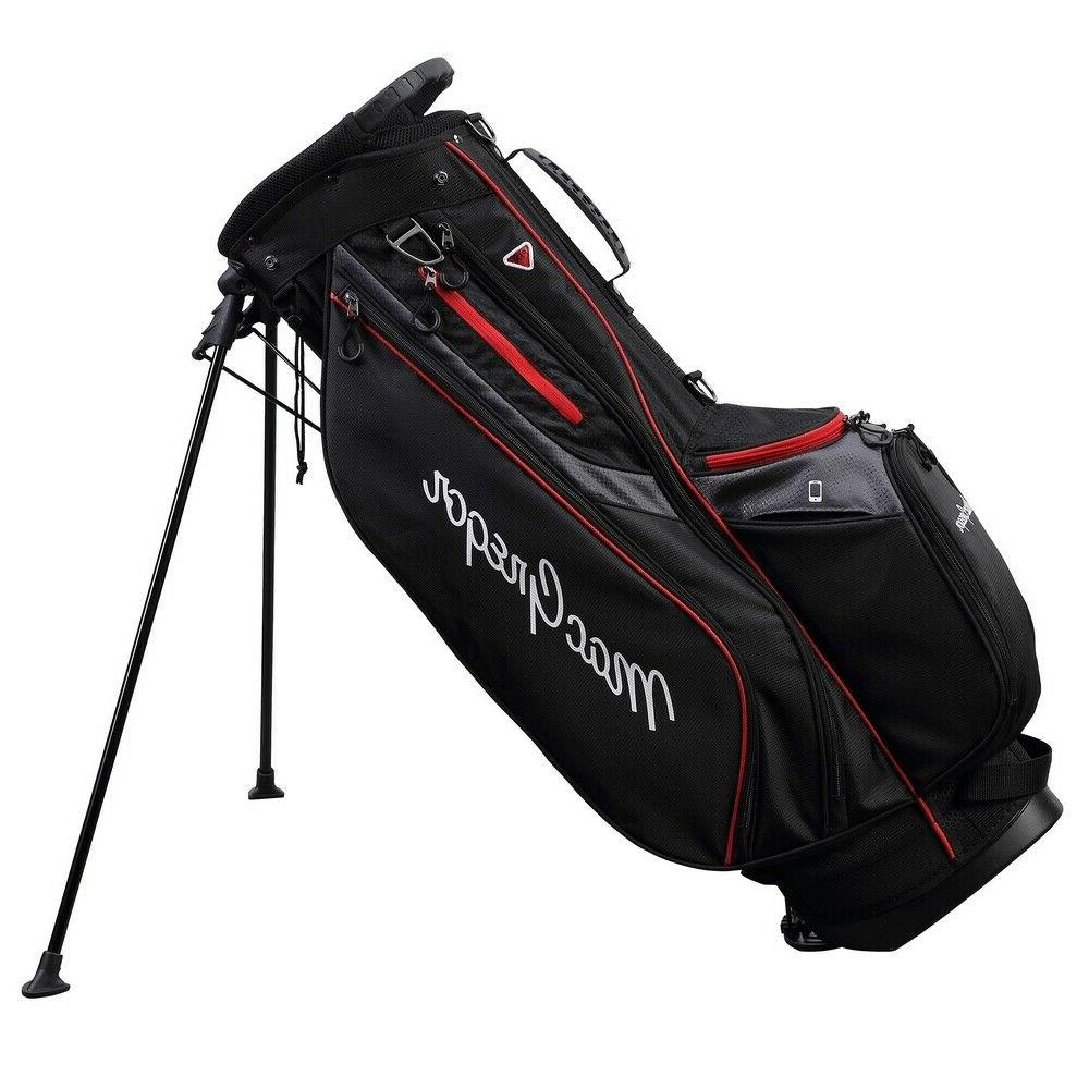 golf response stand bag with 9 6