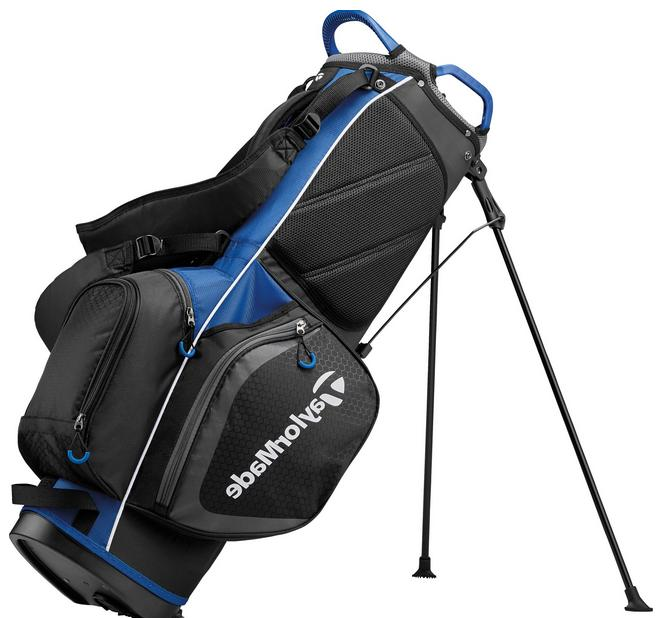 TaylorMade Bag Black/Blue Free Shipping Only Five