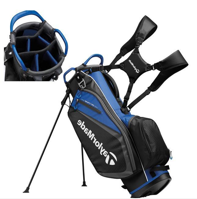 golf select stand bag black blue 2019