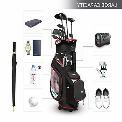 Golf Stand Bag Men 14 Way with Cooler