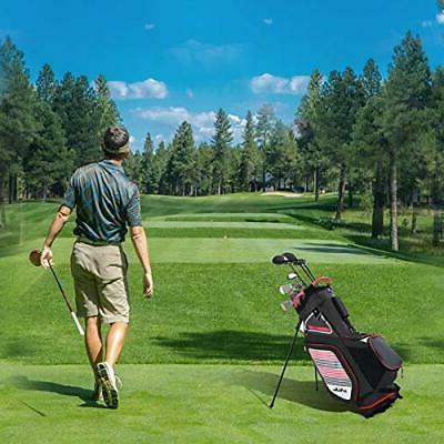 Golf Stand Bag Men 14 Way Divider, with Bag Portable