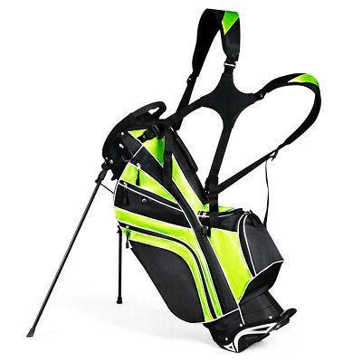 golf stand cart bag club