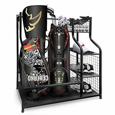 Golf Garage 2 Storage Stand and Other Equip