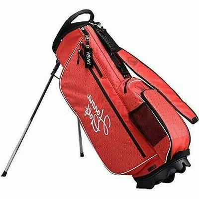 golf unisex stand caddy bag red label