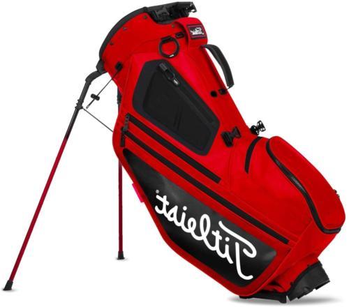 Titleist Hybrid 5 Stand Bag Red/Black