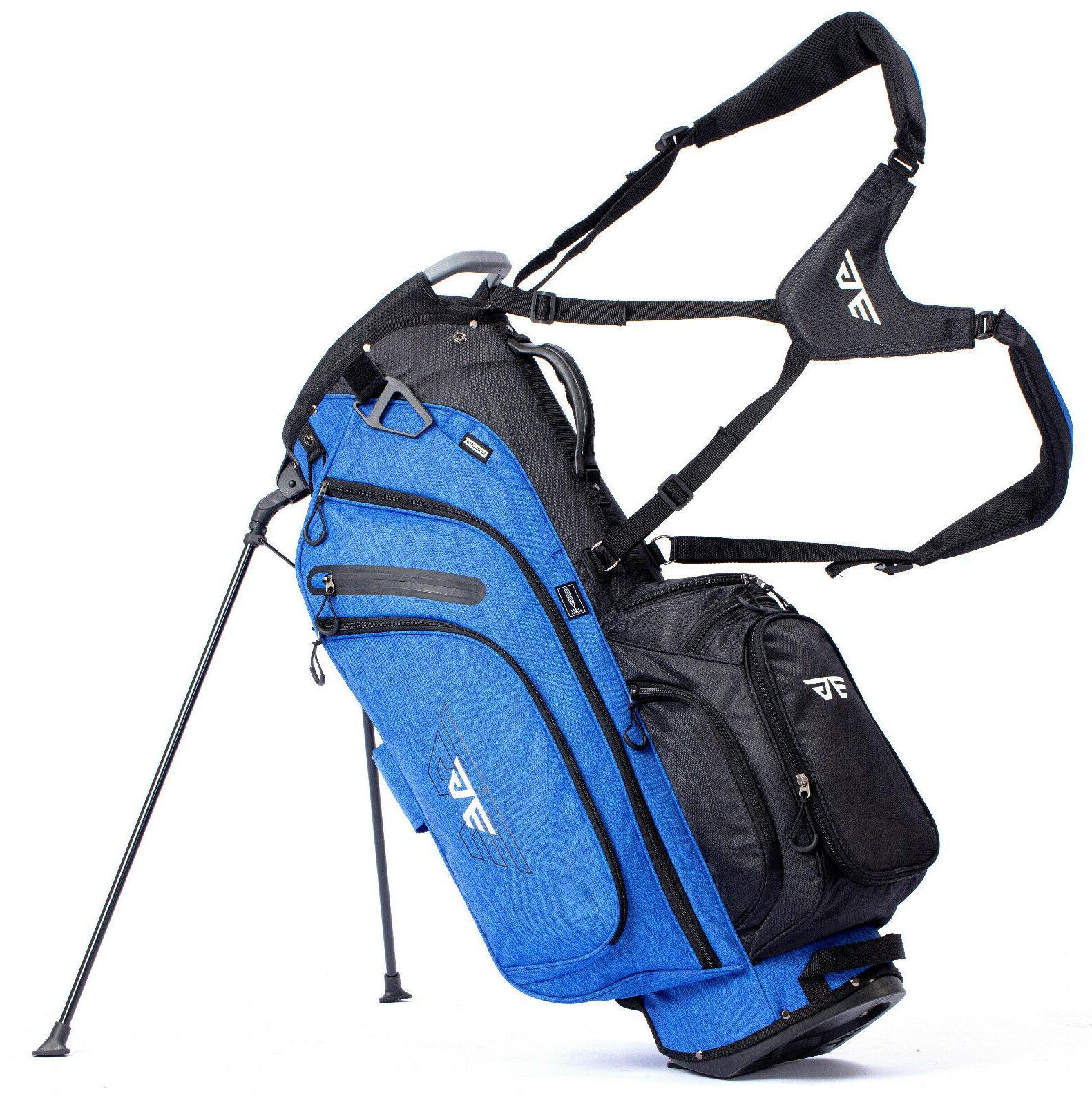 light golf stand bag 14 way full
