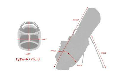 Titleist Men's Bag TB8SX2-4 PLAYERS StaDry EMS /Navy