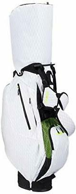 NEW adidas Code Chaos Stand Bag GUV74 White / Solar Red Golf