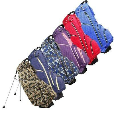 new golf ribbed stand carry bag 5