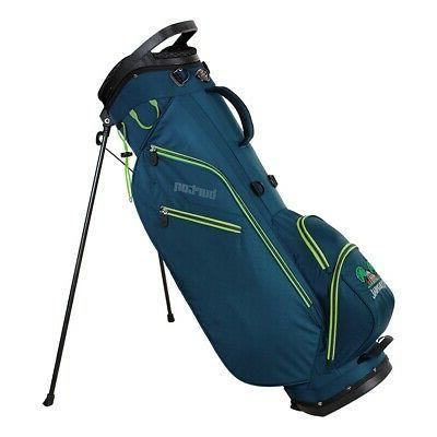 new golf ult stand bag navy lime