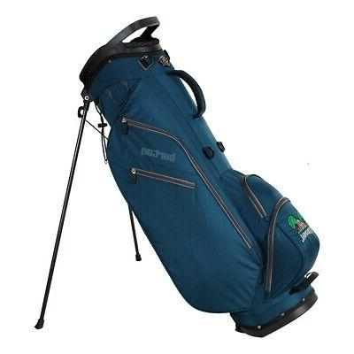 new golf ult stand bag navy silver