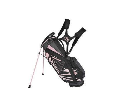 new golf ultralight stand bag black rose