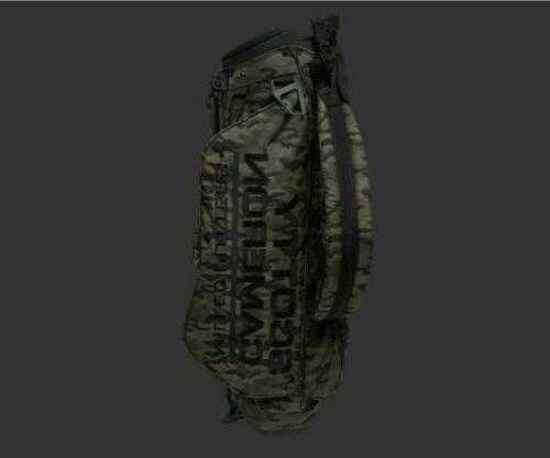 new wanderer camo stand bag ct sold