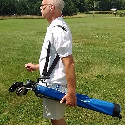 Orlimar Pitch Lightweight Stand/Carry Bag Black