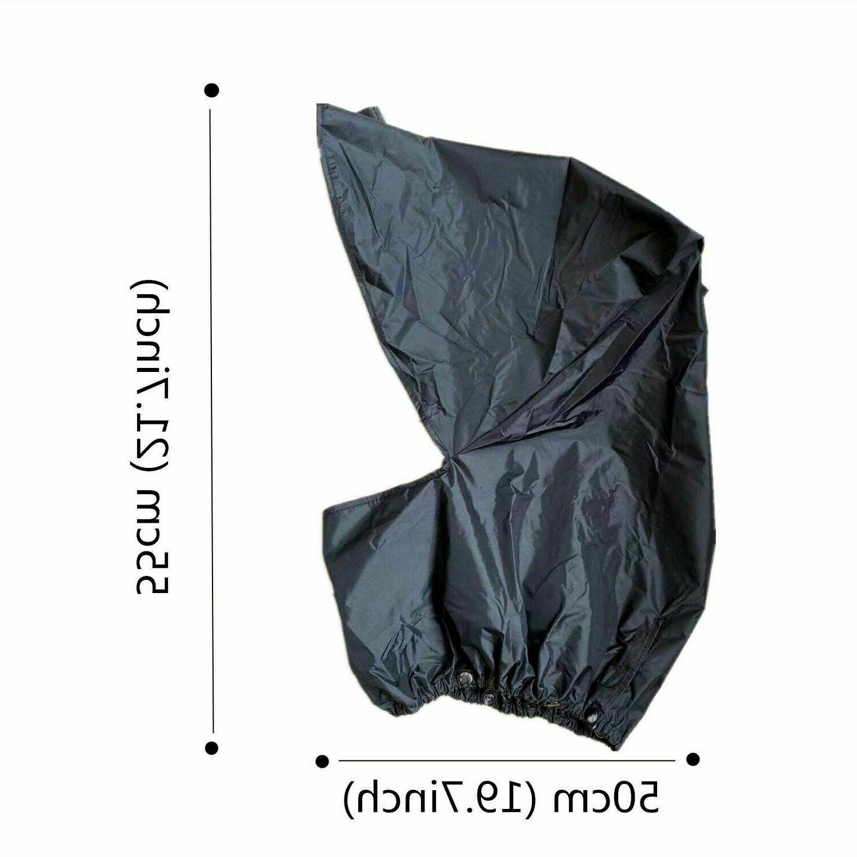 Rain Waterproof Bag Rain Cover For Easy Black Finger Ten