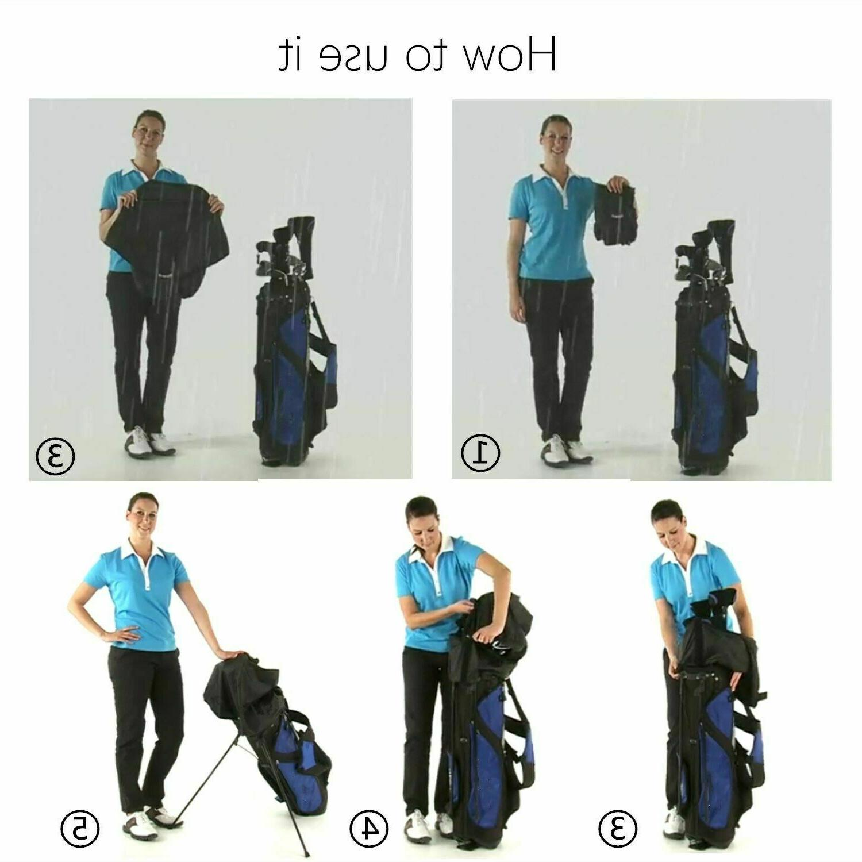 Rain Waterproof Golf Bag For Access Finger Ten