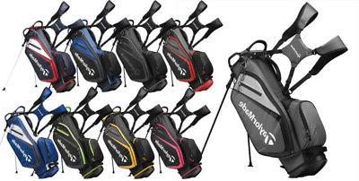 select stand bag 2019 black red