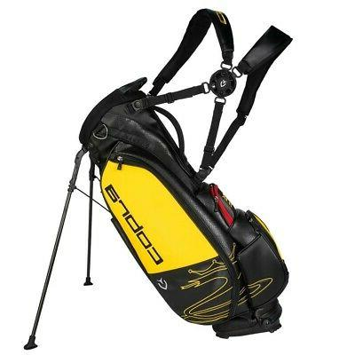 COBRA SPEEDZONE STAND GOLF BAG 90944201 BLACK/YELLOW - NEW 2