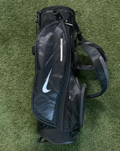 sport lite stand golf bag black dark