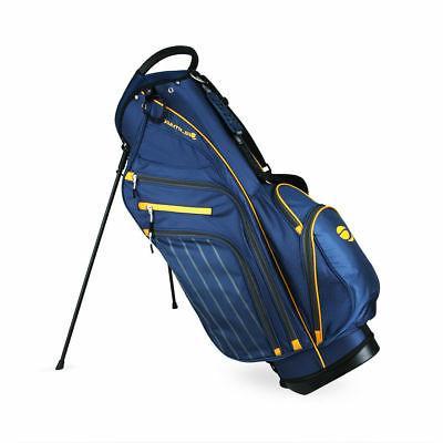 srx 14 9 golf stand bag blue
