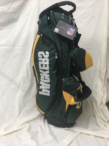 staff new nfl stand golf bag green
