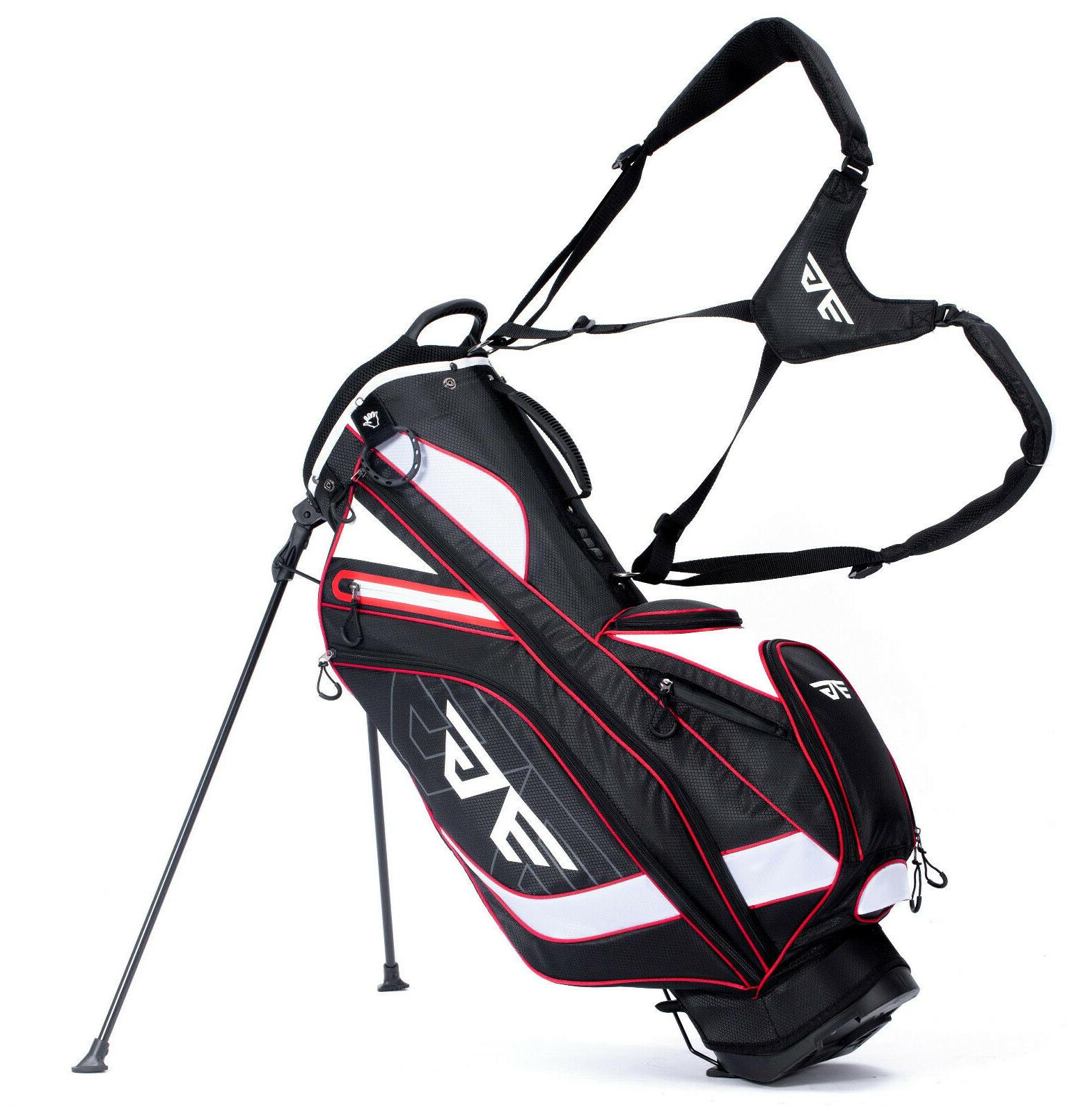 stand bag 8 pocket super light easy