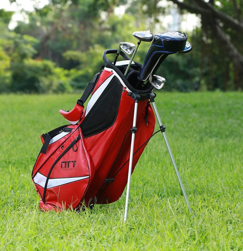 Super Light Golf Stand Bag Carry 8 Pockets Back