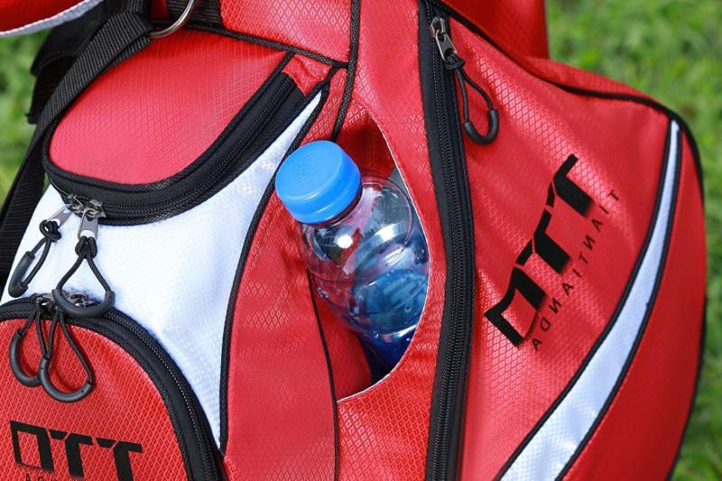 Super Light Golf Stand Bag Carry Pockets Back