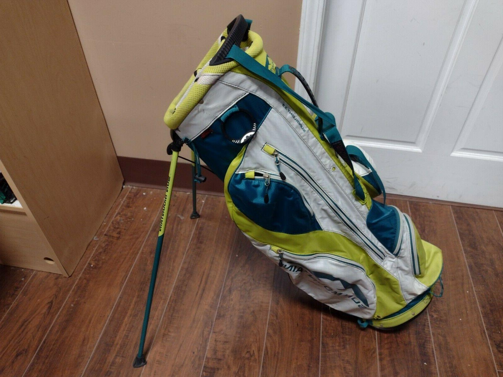 superlight 3 5 dual strap stand bag