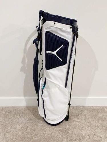 Peter Millar 2.5 Golf Bag White Lightweight $260