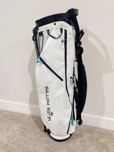 Peter Millar Golf Navy Lightweight Brand