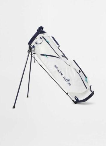 superlite 2 5 golf bag white navy