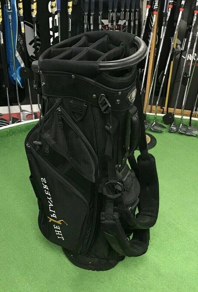 the players stand golf bag
