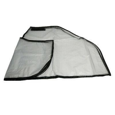 waterproof dustproof zipper hood rain cover
