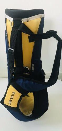 Top Flite XLj 3-Piece Golf Set 3-Way Bag Stand Straps 2 Club