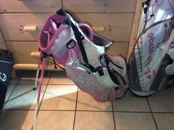 Ladies Titleist Pink Mini Mouse Logo Golf Stand Bag