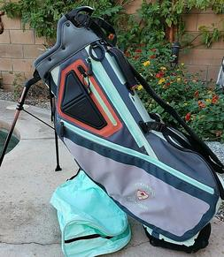 Ladies Titleist Players 5 Stand Carry Golf Bag Aqua Gray Cor