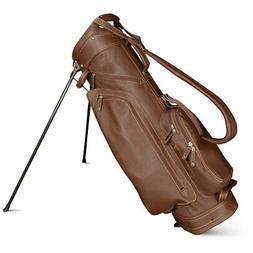 Sun Mountain Leather Golf Stand Bag - Choose Color