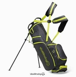 TaylorMade Litetech 3.0 Golf Club Stand Bag 4Way 9In Gray Sp