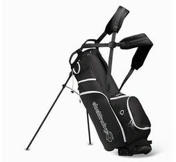 TaylorMade Litetech 3.0 Golf Clubs Stand Bag 4-Way 9In Black