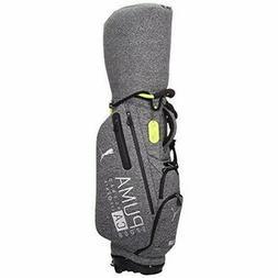PUMA Men's Stand Caddy Bag CA 9 x 47 inch 3.2kg Medium Gray