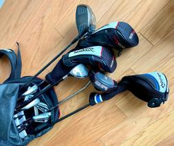 Mens Golf Club Set Right Handed 14 Piece With Stand Bag Titl