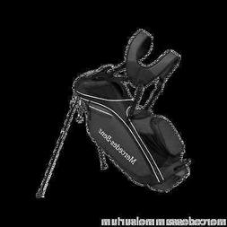 Mercedes Benz Original Golf Standing Bag with Rain Cover Bla
