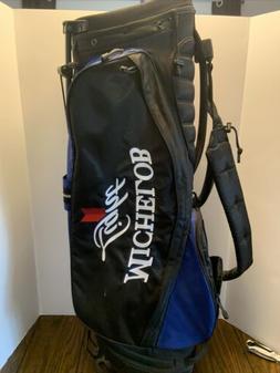 michelob Light Golden Tee Adidas 4 Way Stand golf bag