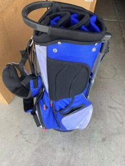 Michelob Ultra 14 Way Divided Standing / Carry Golf Bag Dual