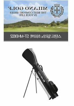 MILANO ST-MHB602 Stand Half Golf Bag 6inch Silver Color 100%