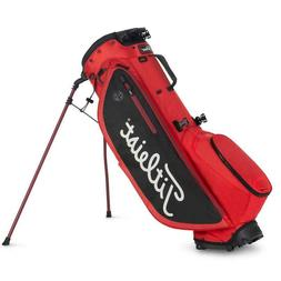 New Titleist 2019 Players 4 Plus Stand Bag Red/Black/White F