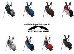New 2021 Sun Mountain 4.5 LS 14-Way  Stand Bag -Pick Color F