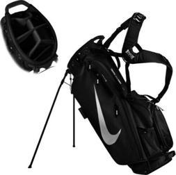 NEW 2020 NIKE AIR SPORT Golf Stand Bag  - BLACK / SILVER LOG