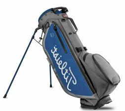 New Titleist 2020 Players 4 Plus Stand Bag Charcoal/Royal Fr